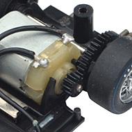 Ferrari 250 LM Fly 88328 - Le moteur transversal