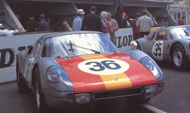 24 heures du Mans 1965 - Porsche 904/4 GTS- Koch / Fischhaber - 5ème