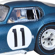 Cobra Daytona Revell - Détails du pilote et des roues