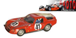 Alfa Roméo TZ2 n°41 PSK Le Mans 1965