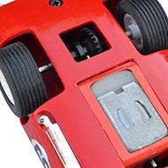 Cobra Daytona Strombecker - Détails du moteur et de la transmission