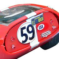 Cobra Daytona Strombecker - Détails de la face arrière
