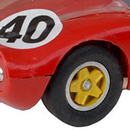 Dino Strombecker - détail des roues