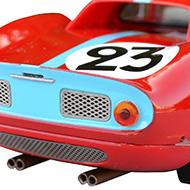 Ferrari 250 LM Fly 88321 -Détail de la face arrière