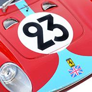 Ferrari 250 LM Fly 88321 -Détail de la décoration