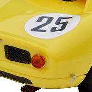 Ferrari 250 LM Fly 88328 - Détail de la face arrière