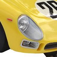 Ferrari 250 LM Fly 88328 - Détail des phares