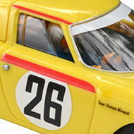Ferrari 250 LM Fly 88328 - Détail de la décoration