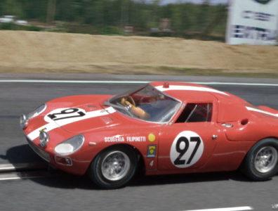 24 heures du Mans 1965 - Ferrari 250LM #27 - Pilotes : Dieter Spoerry / Armand Boller - 6ème