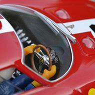 Ferrari 250 LM Fly F02101 -Détail du poste de pilotage
