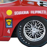 Ferrari 250 LM Fly F02101 -Détail des roues