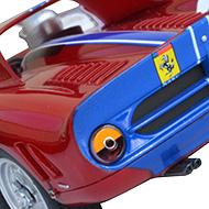 Ferrari 330 P2 Carrera - Détails de la face arrière