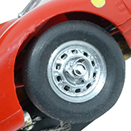Ferrari 330 P2 Strombecker - détail des roues