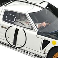 Ford MkII Le Mans Miniatures - Détails du pilote et de la décoration