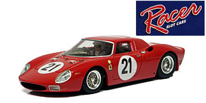 Ferrari 250LM n°21 Racer Le Mans 1965