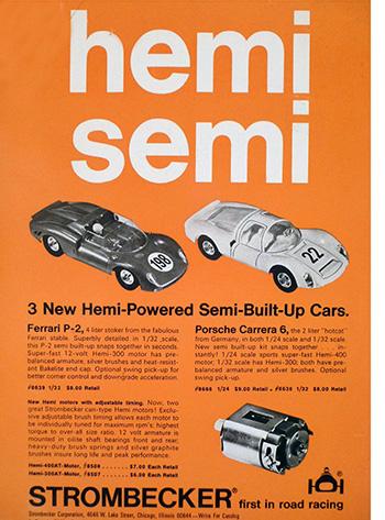 Stombecker Ferrari 330 P2 et Porsche Carrera 6
