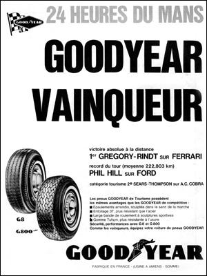 Victoire au Mans 1965