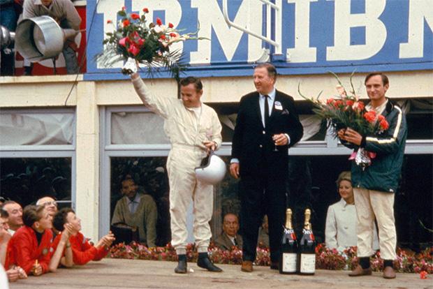 Chris Amon et Bruce McLaren - Première victoire de Ford aux 24 heures du Mans