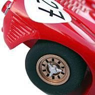 Ferrari 330 P3 - Détails des roues arrière
