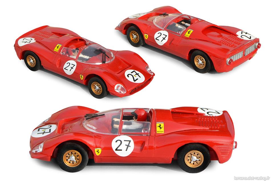 Ferrari 330 P3 - Scalextric Altaya Coches Miticos 2