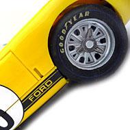 Ford MkII - Détails des roues avant