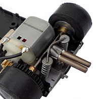 Ford GT40 - Le moteur transversal et la transmission