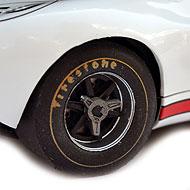 Ford GT40 - Détails des roues arrière