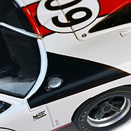Ford GT40 - Détails du capot avant
