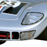 Ford GT40 - détail de des phares