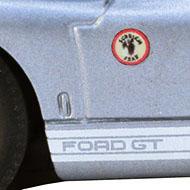 Ford GT40 - détail de la décoration