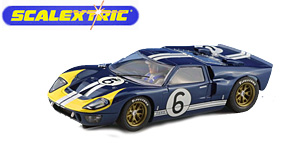 Ford MkII n°6 Scalextric Le Mans 1966