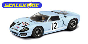 Ford GT40 n°12 Scalextric Le Mans 1966