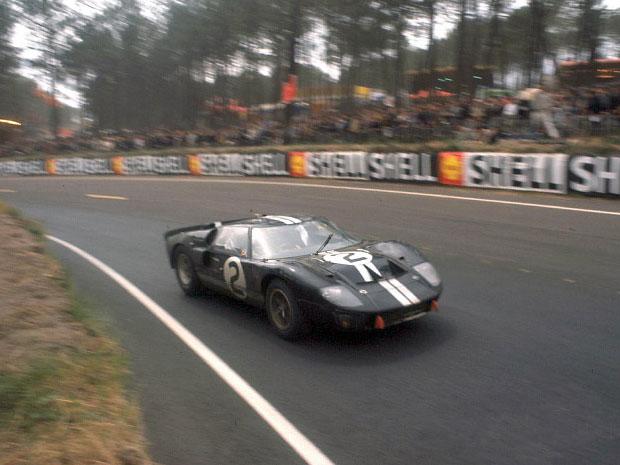 24 heures du Mans 1966 - Ford MkII #2 - Pilotes : Bruce McLaren / Chris Amon- 1er