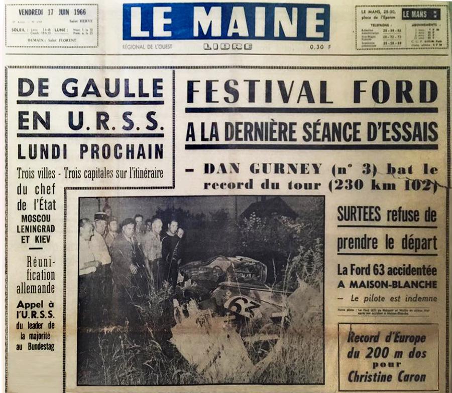 Le Maine 17 juin 1966