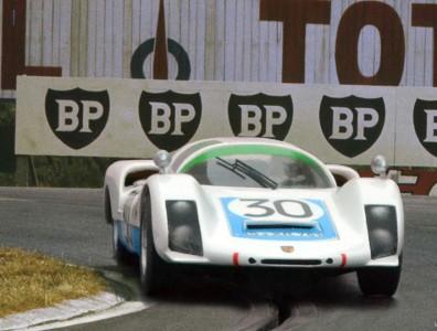 24 heures du Mans 1966 - Porsche 906L #30 - Pilotes : Jo Siffert/ Colin Davis- 4ème