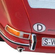Porsche 911 - Détails des feux arrière