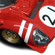 Ferrari 330 P3 - Détails de l'avant