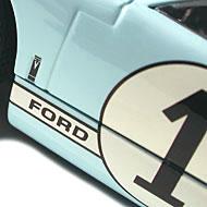 Ford MkII - Détails de la décoration