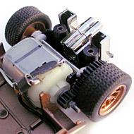 Ford MkII - Le moteur transversal et la transmission
