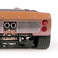 Ford MkII - Détails de la face arrière