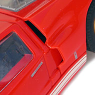 Ford MkII - Détails des prises d'air