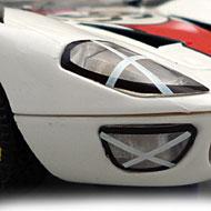 Ford GT40 - Détails de la face avant
