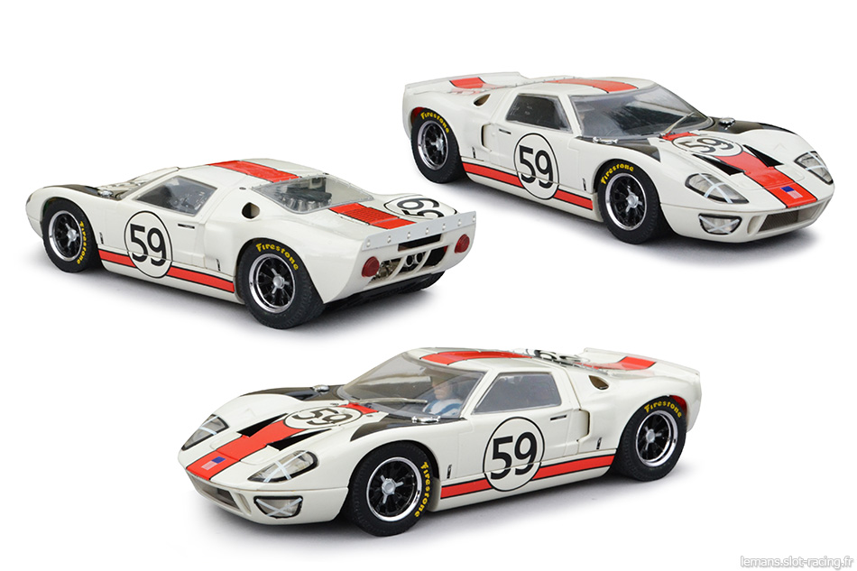 Ford GT40 - Scalextric C2578A