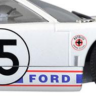 Ford GT40 - Détails de la décoration
