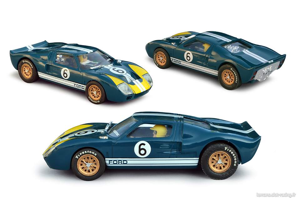 Ford MkII - Scalextric Altaya Coches Miticos n°8