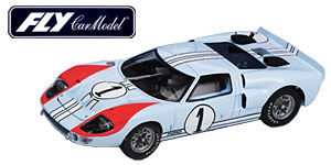 Ford MkII n°1 Fly Le Mans 1966
