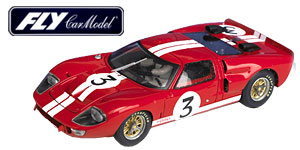 Ford MkII n°3 Fly Le Mans 1966