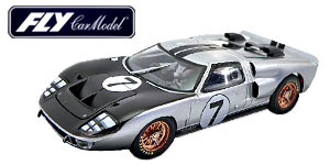 Ford MkII n°7 Fly Le Mans 1966