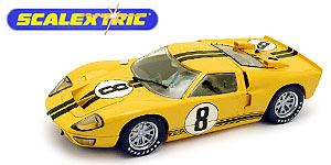 Ford MkII n°8 Scalextric Le Mans 1966