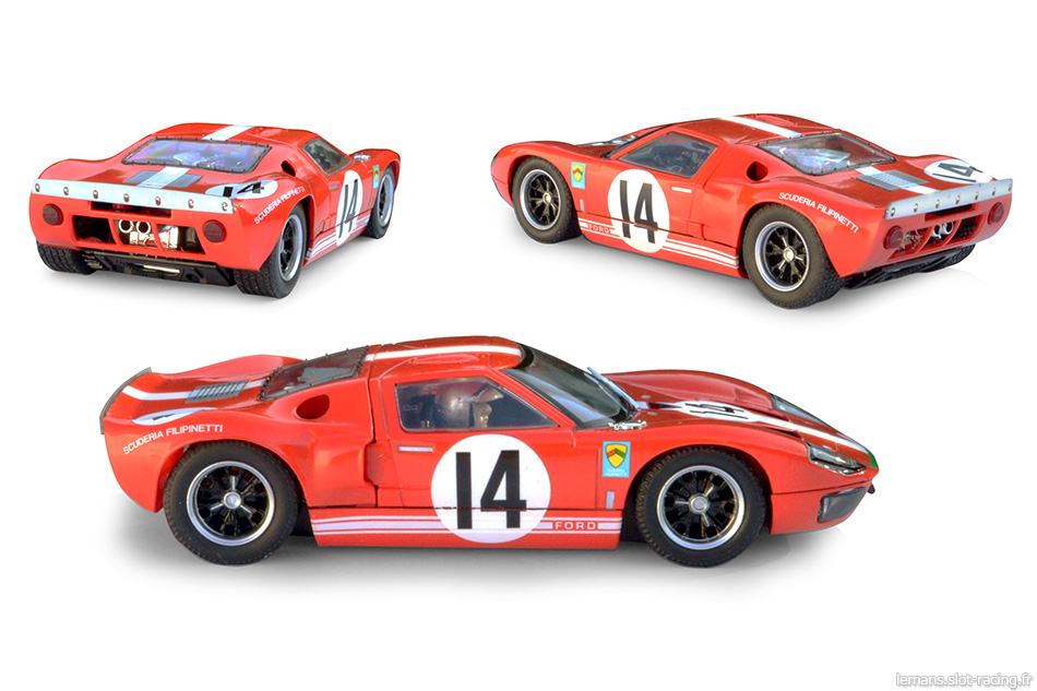 Ford GT40 - Scalextric C3630